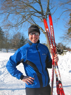 cross country ski - Fredrik